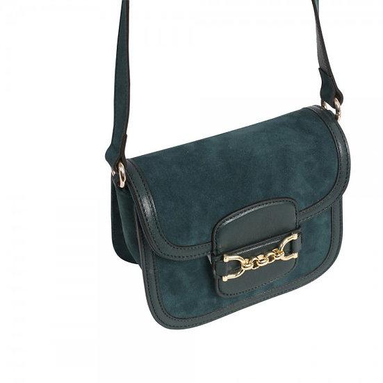 Abro - Cross body bag DIANA small  pixie green