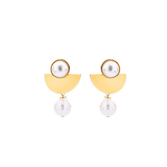SDP - EA01 - Athena pearl earrings
