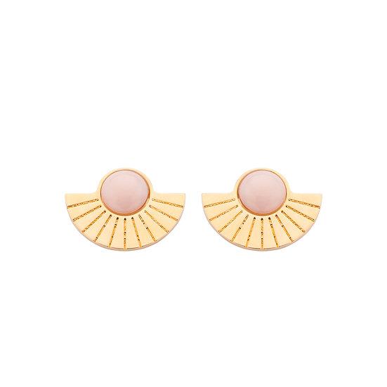 SDP - EA32 - Emy studs nude earrings
