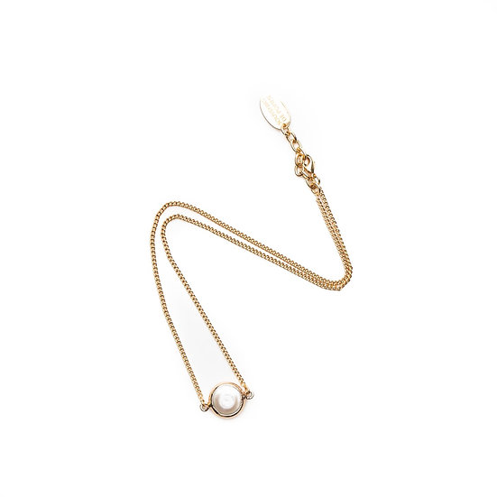 SDP - V83 - Rosi pearl solo necklace
