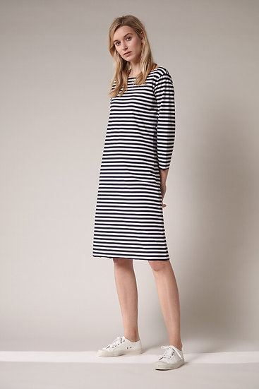 TRVL DRSS -Short T Dress Stripe