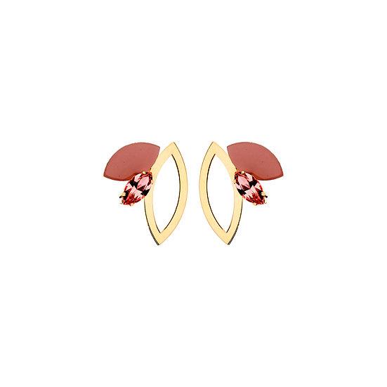 SDP - EA37 - Eva shortie nude earring