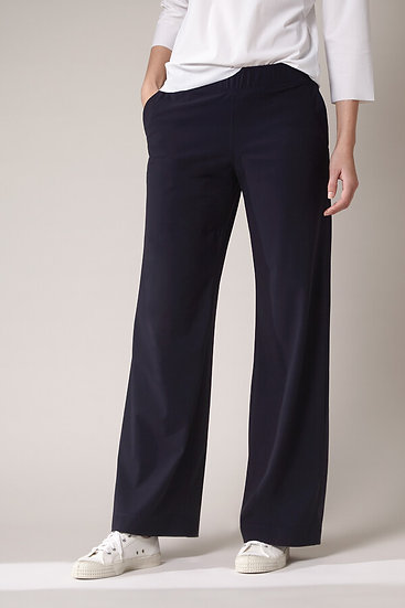 TRVL DRSS - wide leg pants dark blue