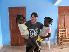 Janet in Haiti
