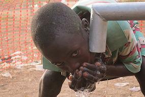 Enjoying clean water