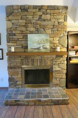 10238 Alexandria fireplace