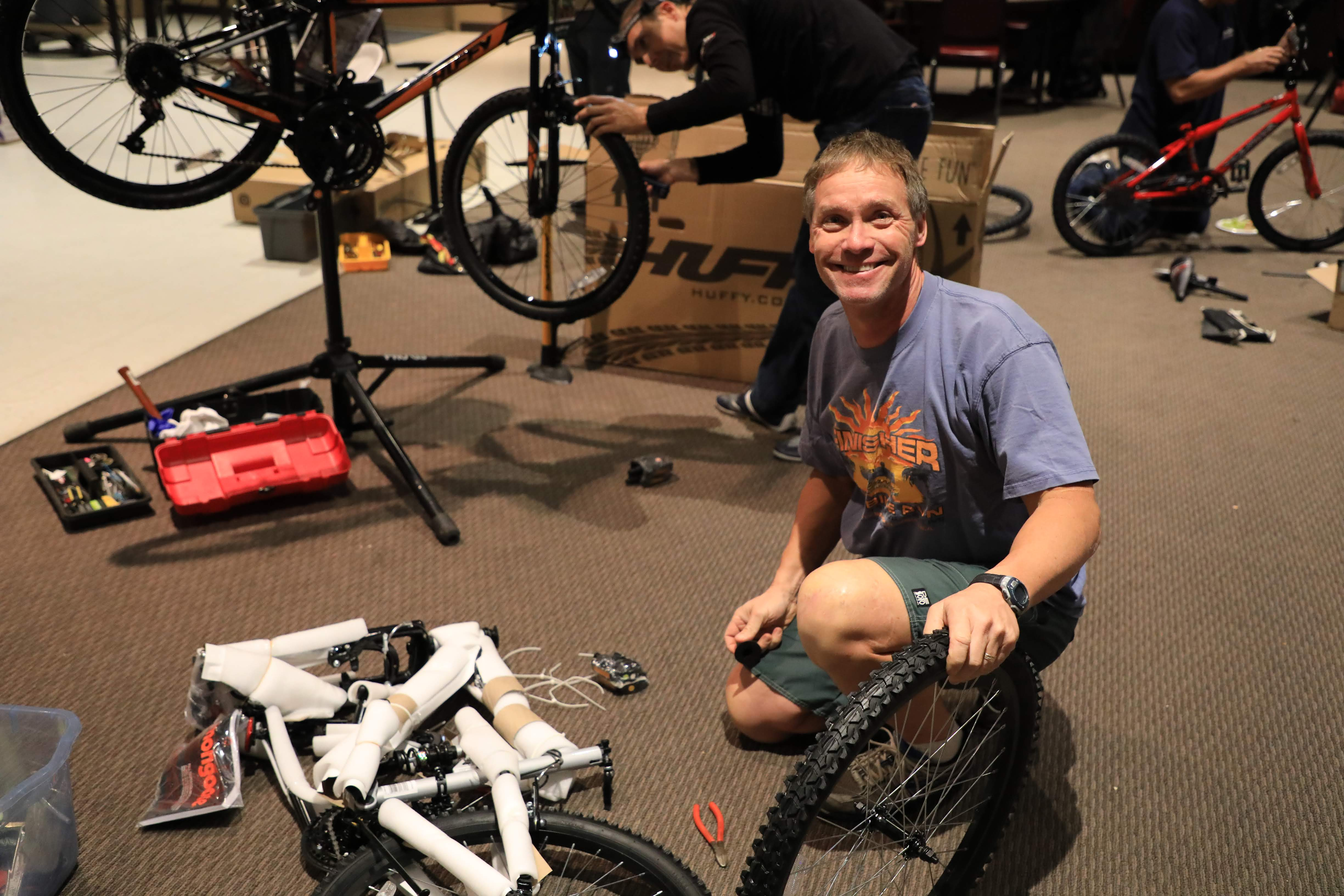 Participate in our Build a Bike Pa