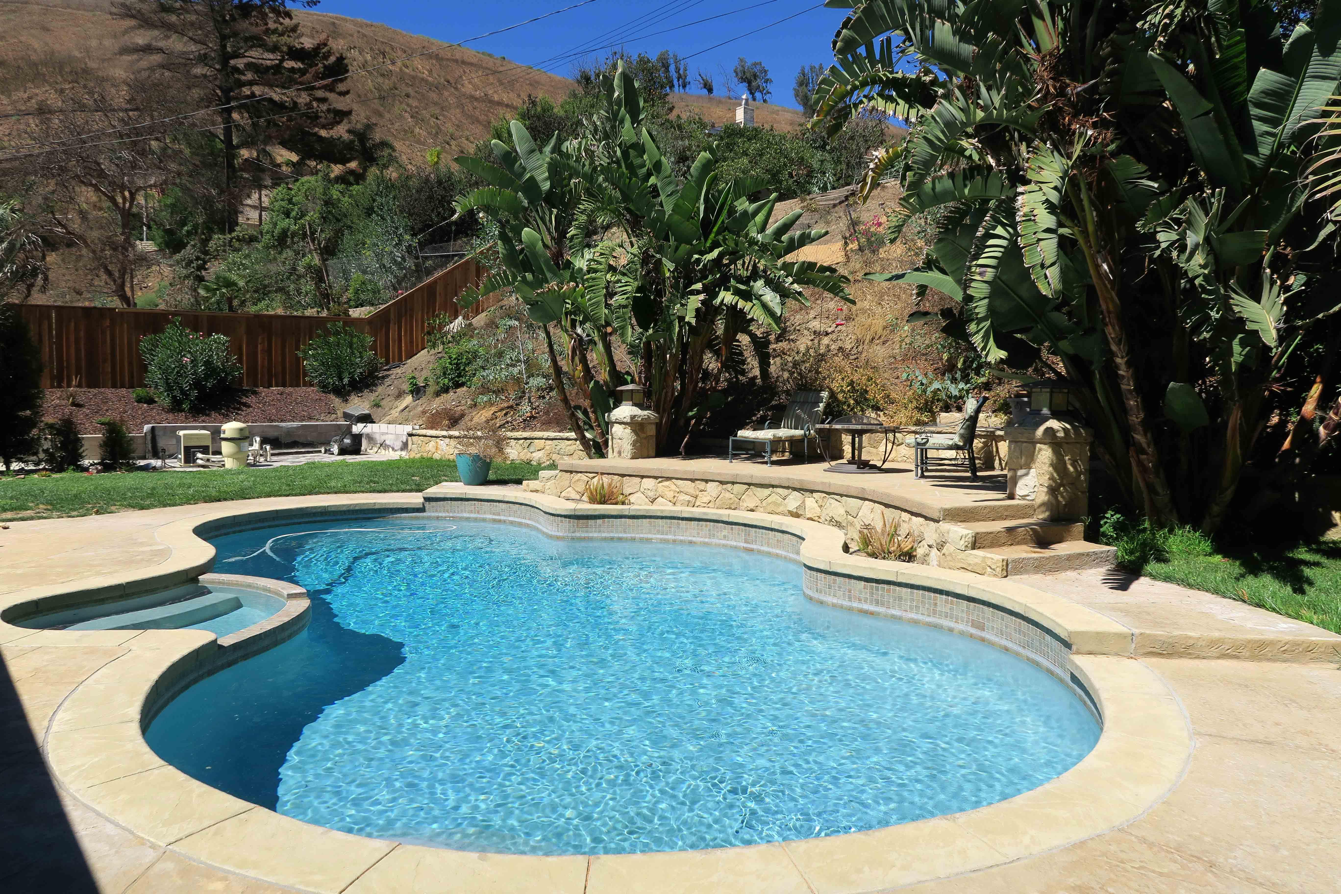 Gorgeous pool/backyard