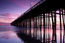 Ventura pier at sunset