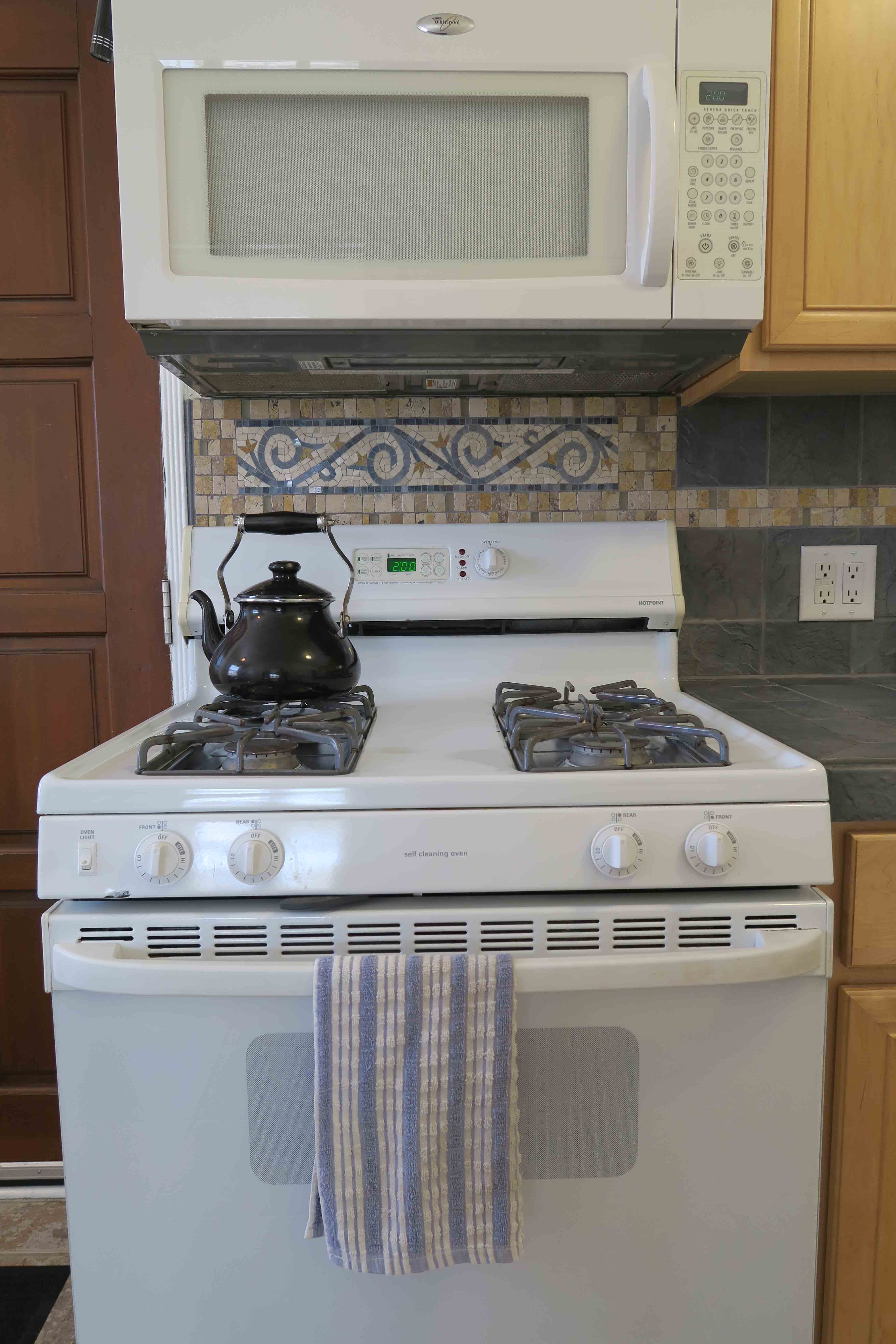 2739 Sereno - Stove with backsplash