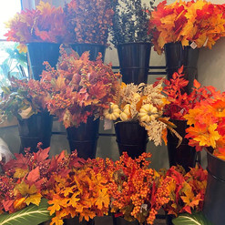 Fall Leaves and decor