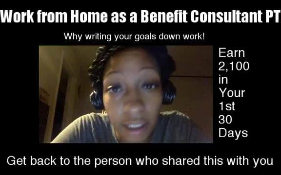 Why writing your goals Down Work!