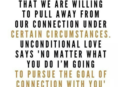 CONDITIONAL LOVE VS UNCONDITIONAL LOVE