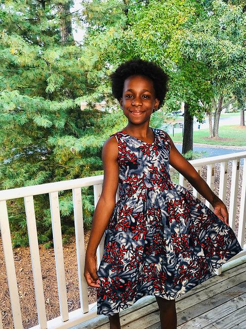 Daughter Red Lightening Dress