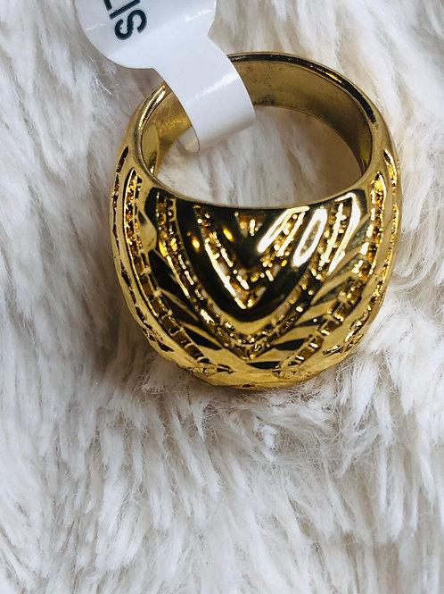 Gold or Silver Wakanda Egg Shell Ring