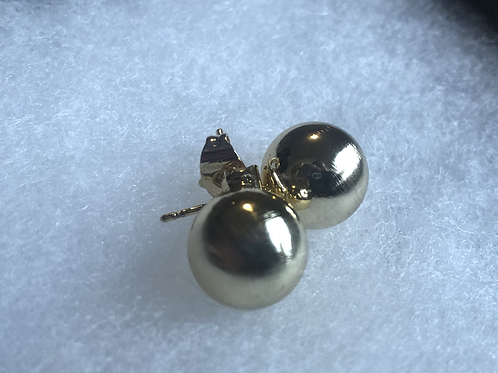 Sold Gold Plated Studs