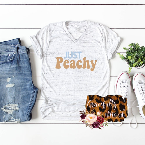 Just Peachy - Retro - Groovy