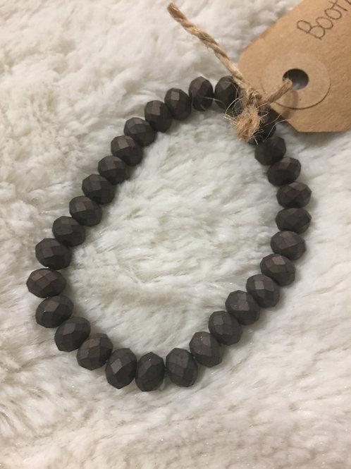 Slate Beaded Bracelet