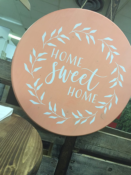 Home Sweet Home Welcome Sign