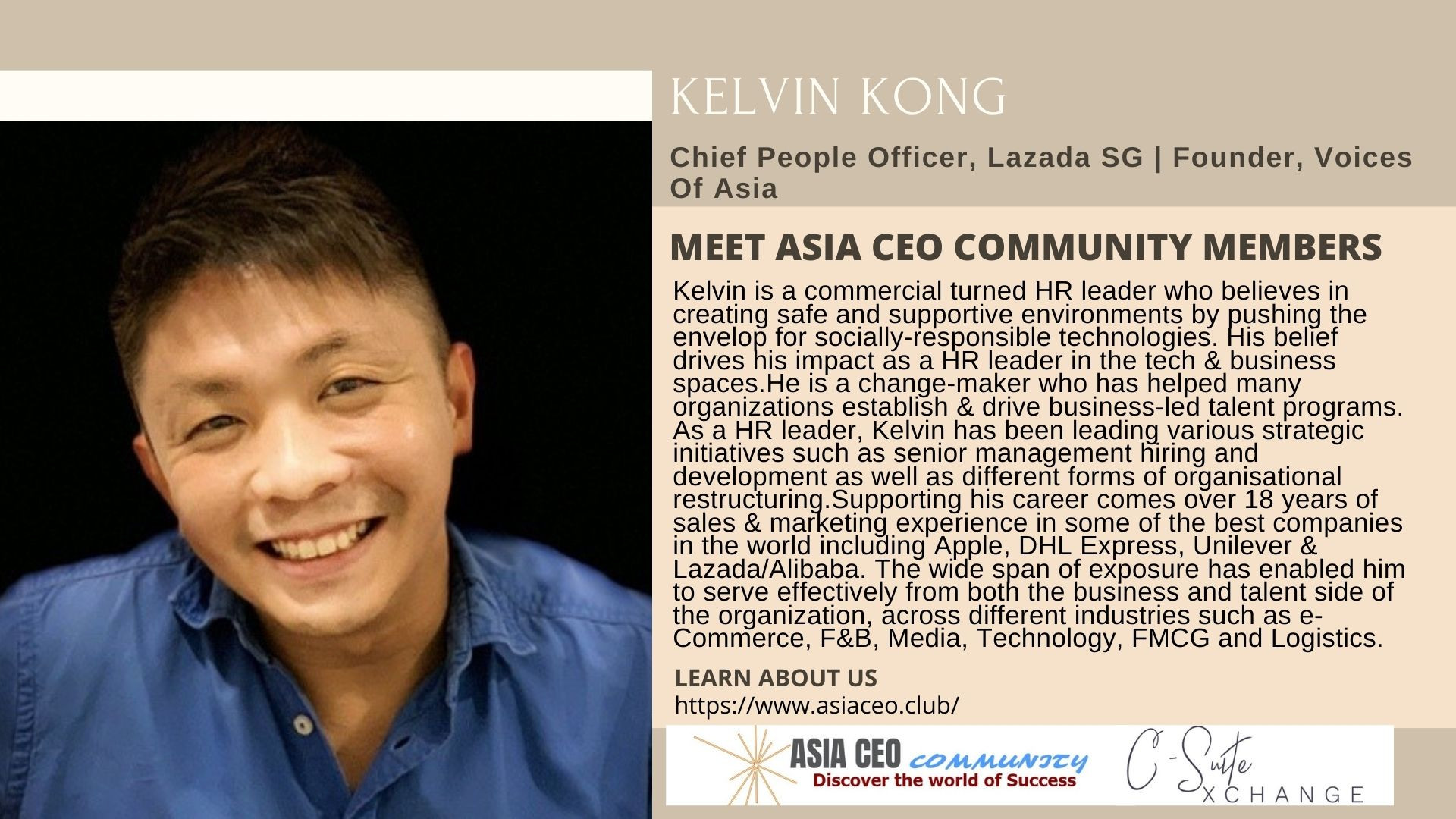 Chief People Officer, Founder, Voices