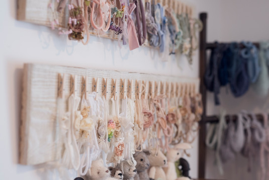 All the dainty and perfectly scaled headbands to compliment your beautiful baby girl!
