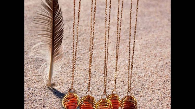 Carnelian Gold Chain