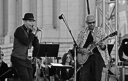 Aki Starr and Jorge Santana
