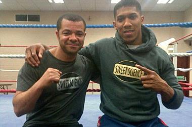 Leroy and Ambassador Anthony Joshua