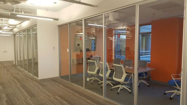 Conference room Glass partition Dc MD VA DMV Us