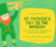 Green and Yellow Illustrated St. Patrick