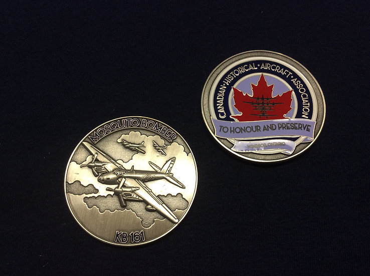 Mosquito Bomber KB161 Coin