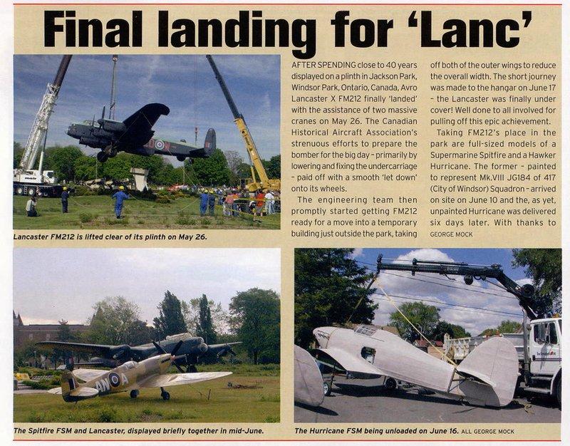 Final landing