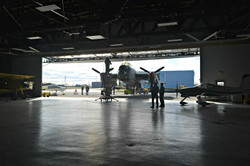 Coming into the main hangar.jpg