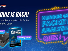ProfiTAP's - HEROES OF PACKET ANALYSIS Challenge 2021!