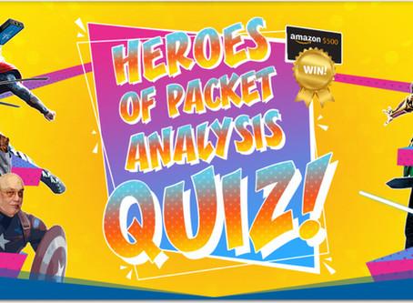 ProfiTAP Heroes of Packet Analysis Quiz 2019! The winner is -