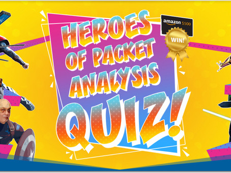 ProfiTAP Heroes of Packet Analysis Quiz 2019! The winner is -
