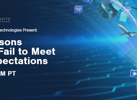 Free Webinar May 27- Reasons why: Applications Fail to Meet Customer Expectations!