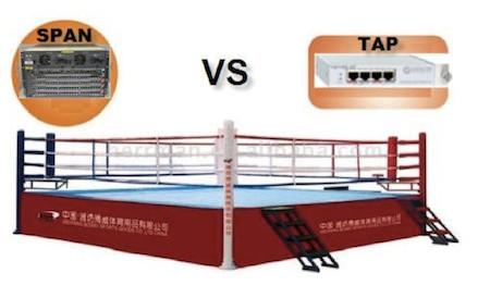"""The Original """"Tap versus SPAN"""" comparison!"""