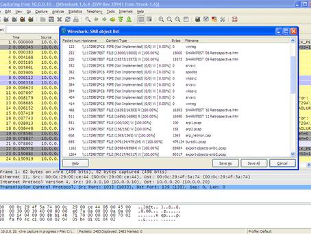 Wireshark: Export SMB Objects (by Joke Snelders)