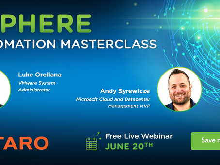 vSphere Automation Master Class