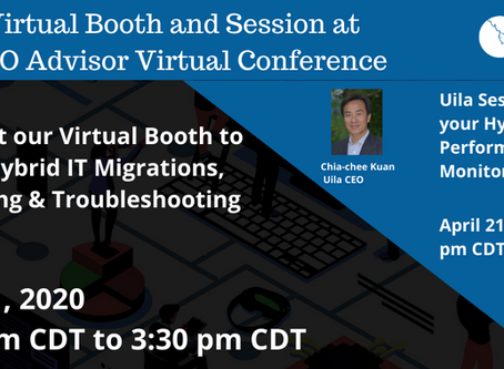 April 21, Free CTO Advisor Virtual Conference!