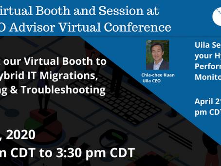 April 21, Free CTO Advisor Virtual Conference!