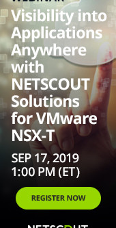 Free Webinar - September 17           NSX-T - Successful deployment!