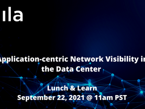 Free: Virtual Lunch and Learn:  Application-centric Network Visibility in the Data Center!