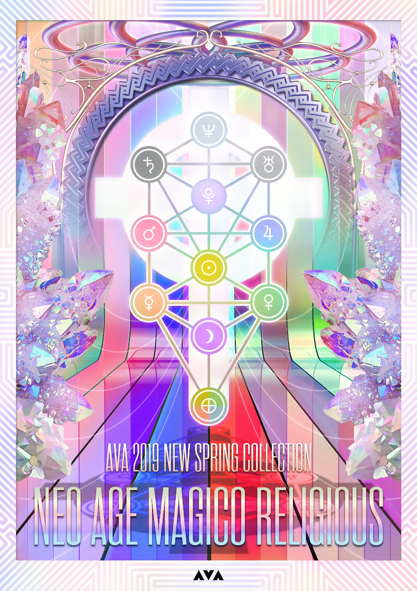 "AVA 2019 New Spring exhibition ""NEO AGE MAGICO RELIGIOUS"""