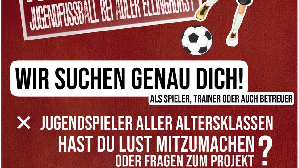 Jugendfussball bei Adler Ellinghorst