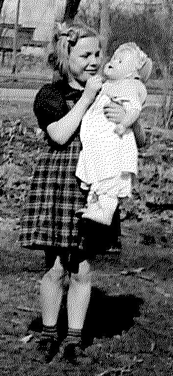 Carolyn Roth with Doll