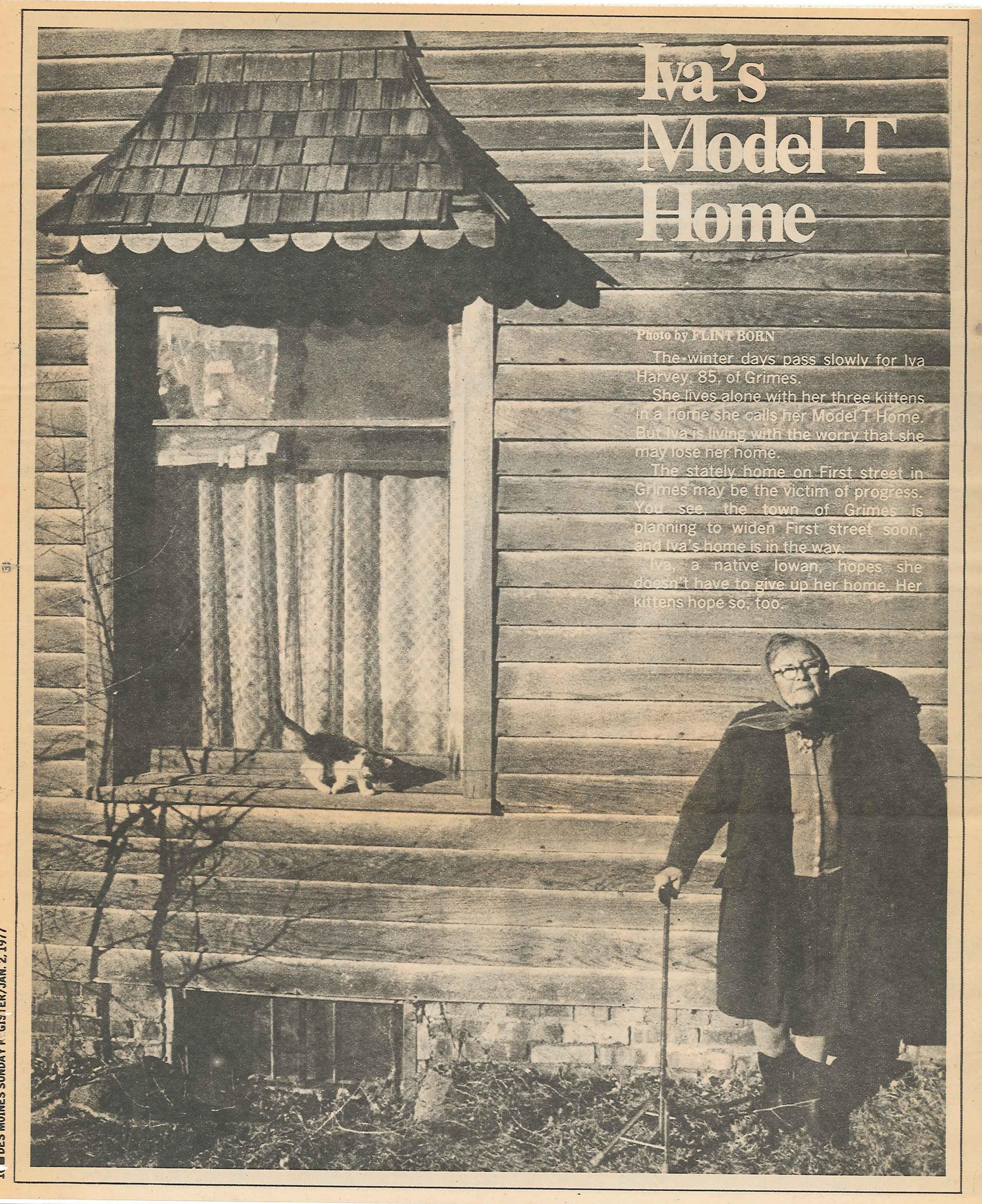 Iva's Model T Home