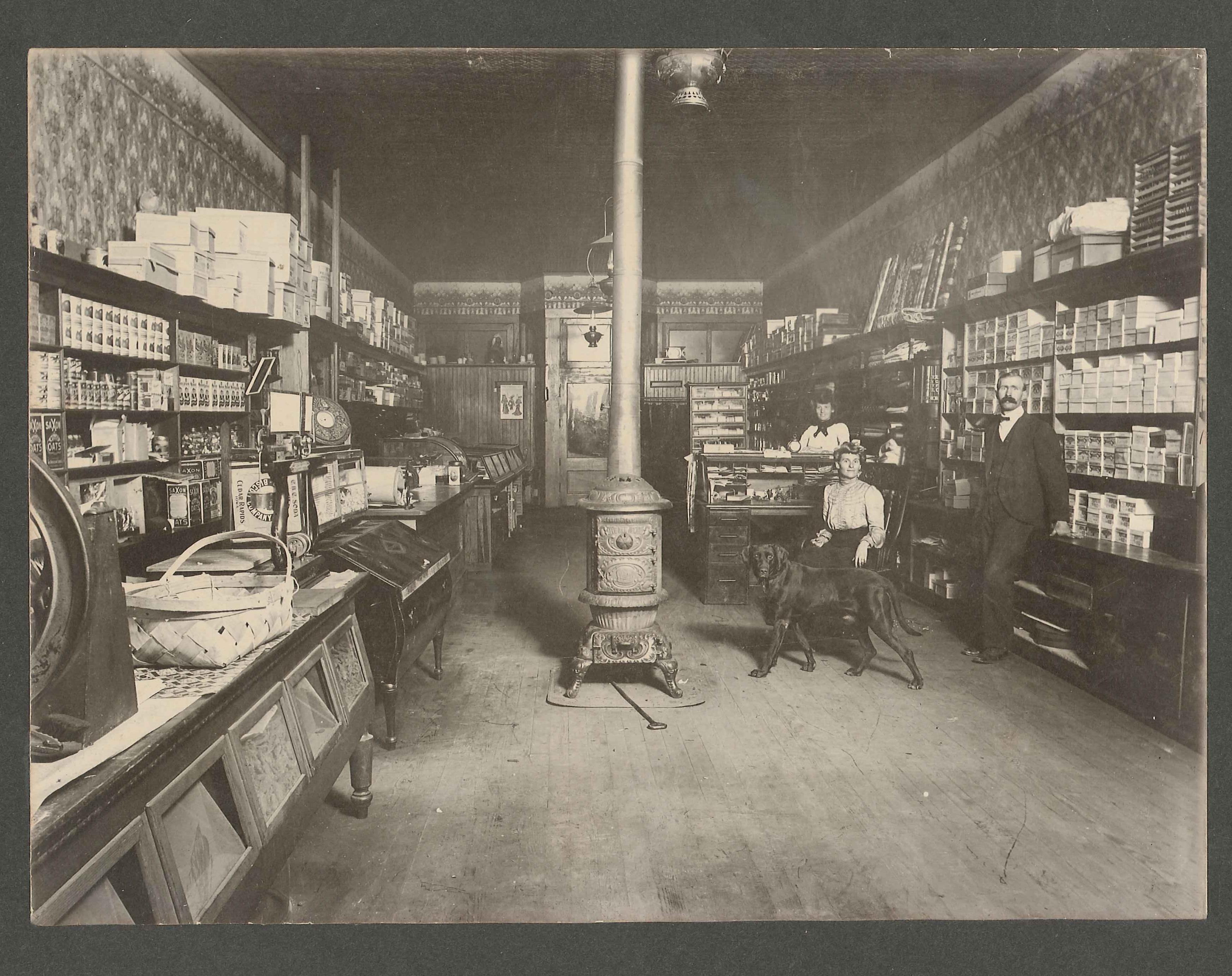 Hardware store, 1882