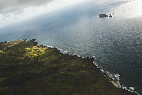 """10"""" x 20"""" - Kanaha Rock (Turtle Rock) Molokai, Hawaii"""